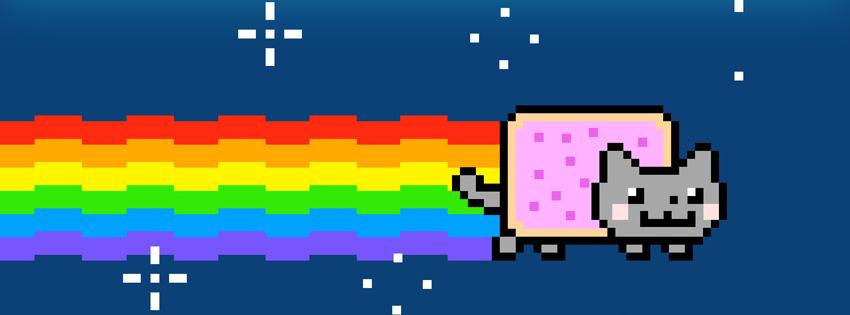 Le Nyan Cat Est Il De Lart Blogs De La Licence Humanités
